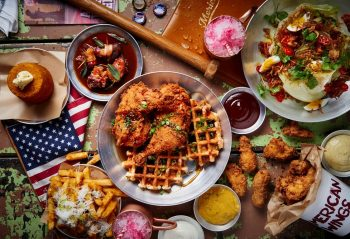 American food in Canada
