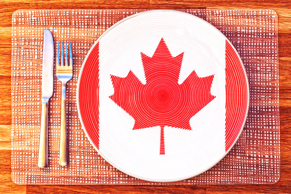 Famous Canadian festival Food Day Canada