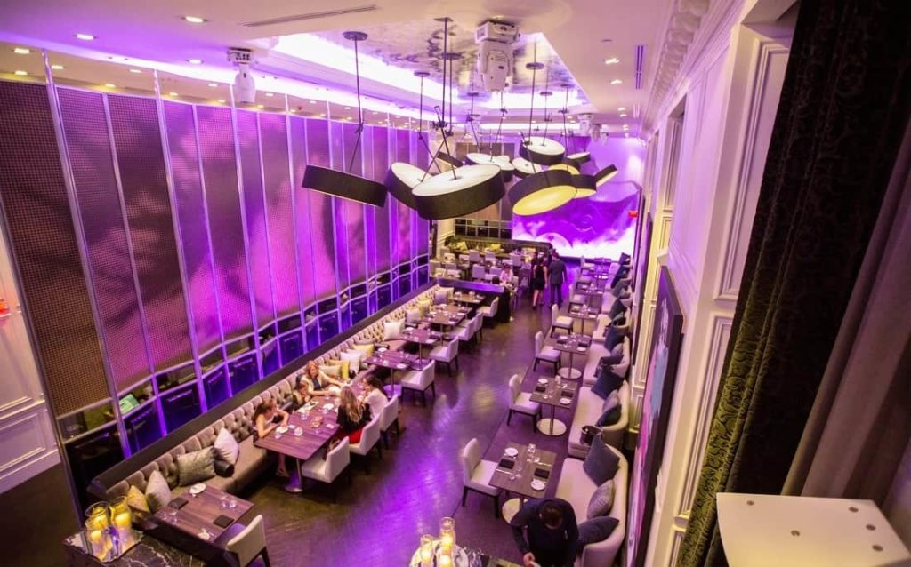 Toronto's America Restaurant